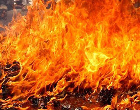Grant County fire