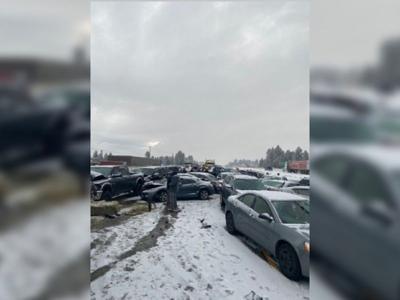 I-90 crash at Geiger 11/26
