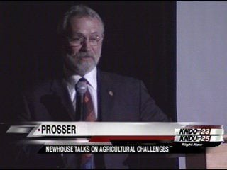 Dan Newhouse Talks on Agricultural Challenges
