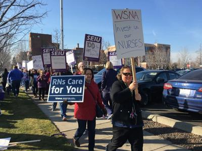 Astria workers rally for better care