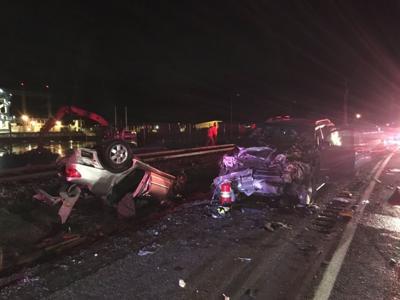 Young girl killed, woman injured in Saturday crash near