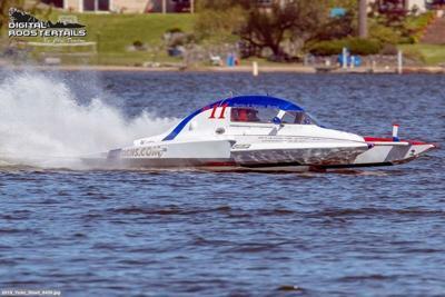 Teen boat driver preparing for Richland Regatta