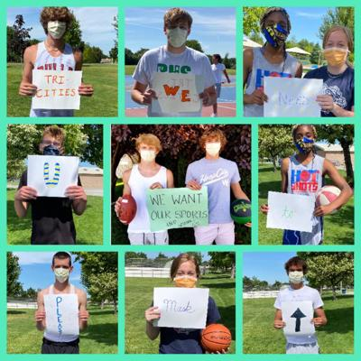Richland students ask for public's mask participation