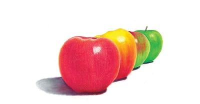 Kittitas Secondary School Students Wins Year of the Apple Art Contest