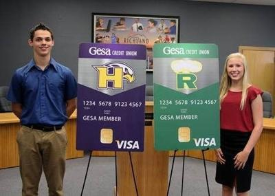 Gesa Credit Union announces Hanford and Richland High School debit cards