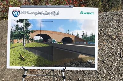 Construction update for I-90 on Snoqualmie Pass