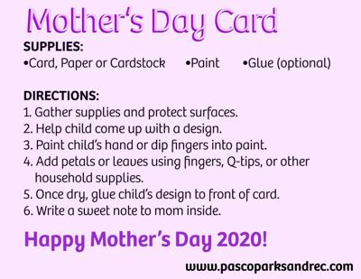 CRAFTS FOR KIDS: Homemade Mother's Day Cards