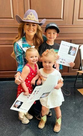 Miss Rodeo America and fans