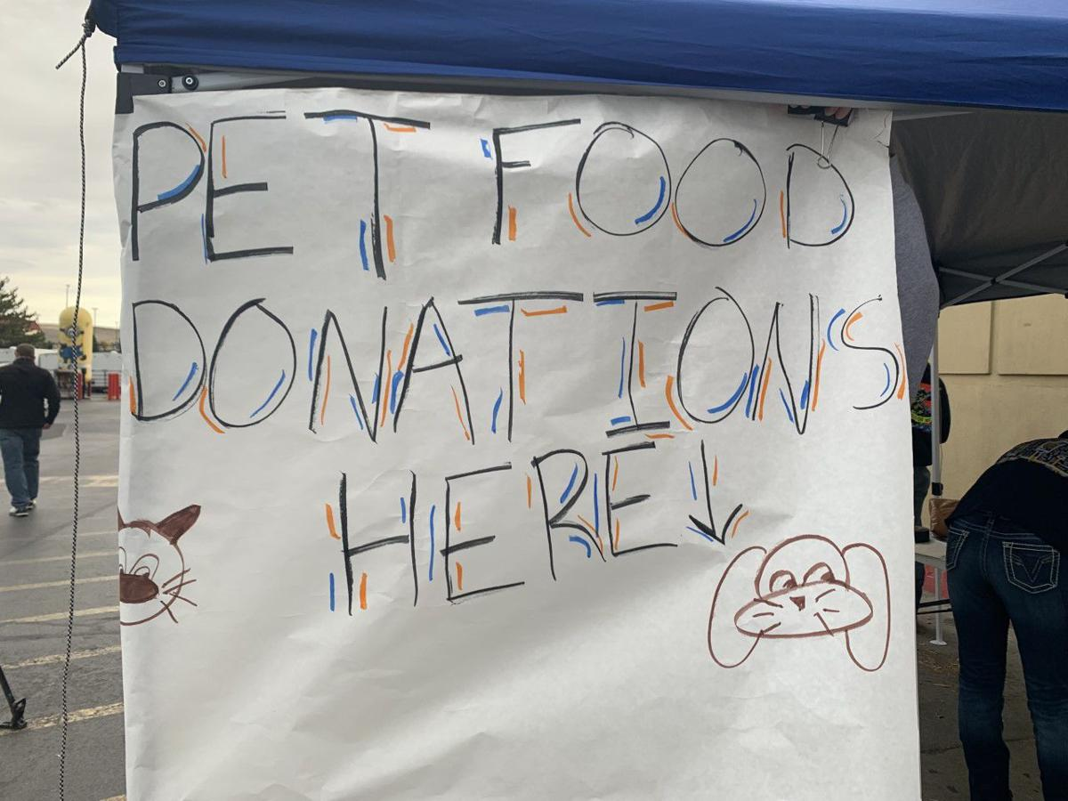 Local high school FFA chapter hosts pet food drive for local shelters