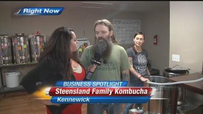 Business Spotlight: Steensland Family Kombucha