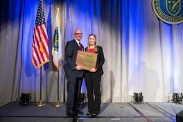 Hanford Site Contractor Wins DOE Award for Work with Small Businesses