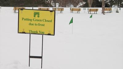 Local golf courses have a snow reason to be concerned