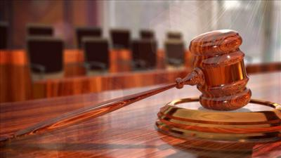 Gavel jury background