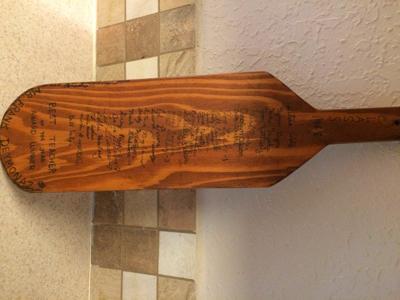 UPDATE: Man Finds School Paddle From 1968 Hidden Inside Wall in Kennewick