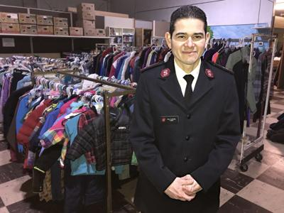 Capt. Jesus Quintanilla of The Salvation Army