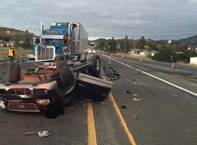 In a 12-hour period over the weekend, 4 car crashes leave 5 dead