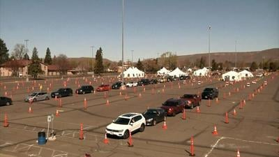 COVID-19 Testing Site at the Yakima State Fair Park is closed due to air quality
