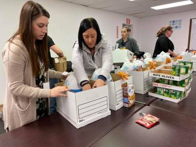 A local non-profit helps feed families in need