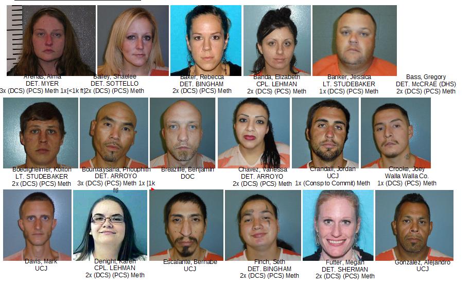 Dozens arrested in Pendleton drug investigation | News