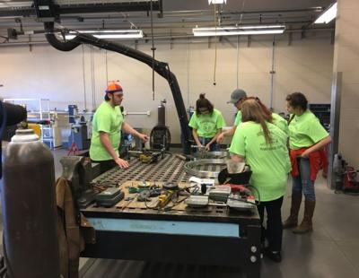 CBC students competing in NASA Mars rover competition