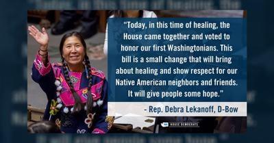 Senate approves ban on Native American mascots at schools
