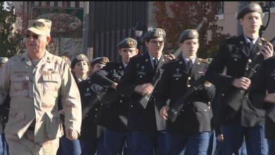 Veterans Day Parade in Yakima Honors Service Members & Veterans