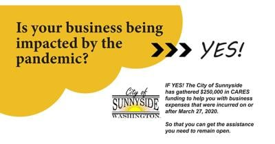 LAST CALL for City of Union Gap and Sunnyside Small Business CARES Grant