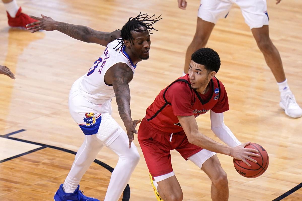 NCAA Eastern Washington Kansas Basketball