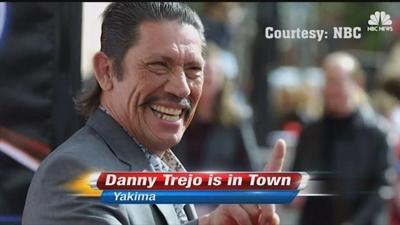 Actor Danny Trejo gives motivational talk to Yakima youth