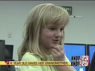 6 Year Old Calls 911; Saves Grandmother