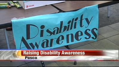 Students at Columbia Basin College raise disability awareness
