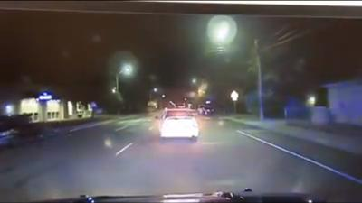 WATCH: Dash cam video shows burglary suspects leading Pasco Police on chase