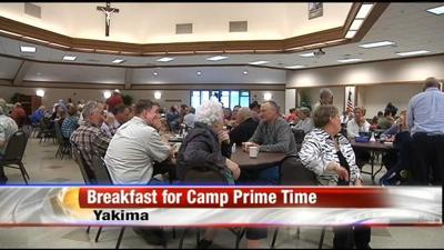 Breakfast for Camp Prime Time