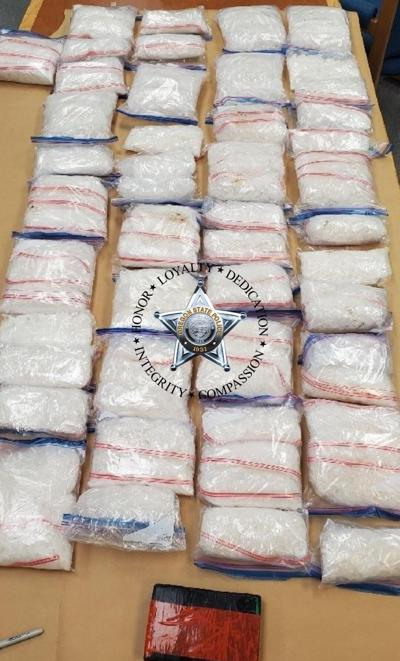 Oregon State Police discover 85 pounds of drugs during traffic stop, driver from Yakima