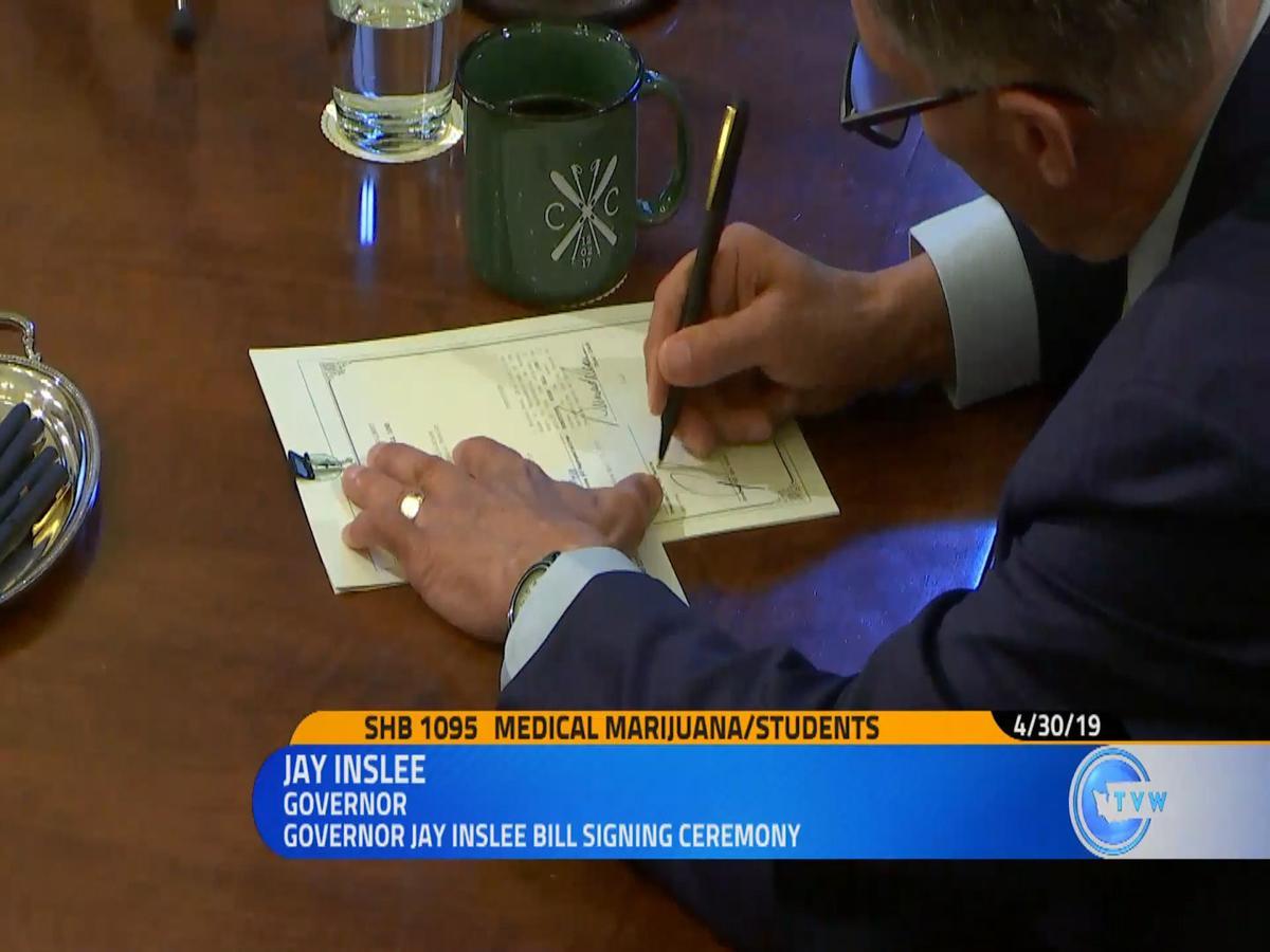 signing bill