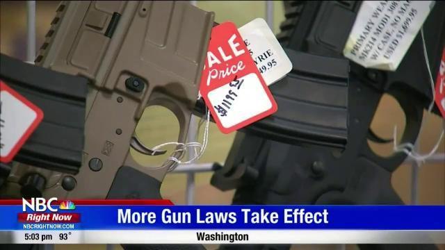 New gun laws take effect in WA | Top Video | nbcrightnow com