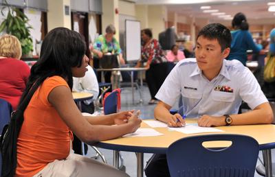 Delta High School preps students in mock interviews