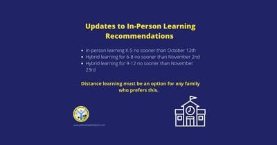 Yakima Health District Updates Recommendation for In-Person Learning
