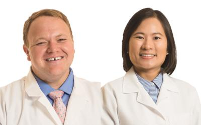 Drs. Borgmann and Kha appointed chief residents