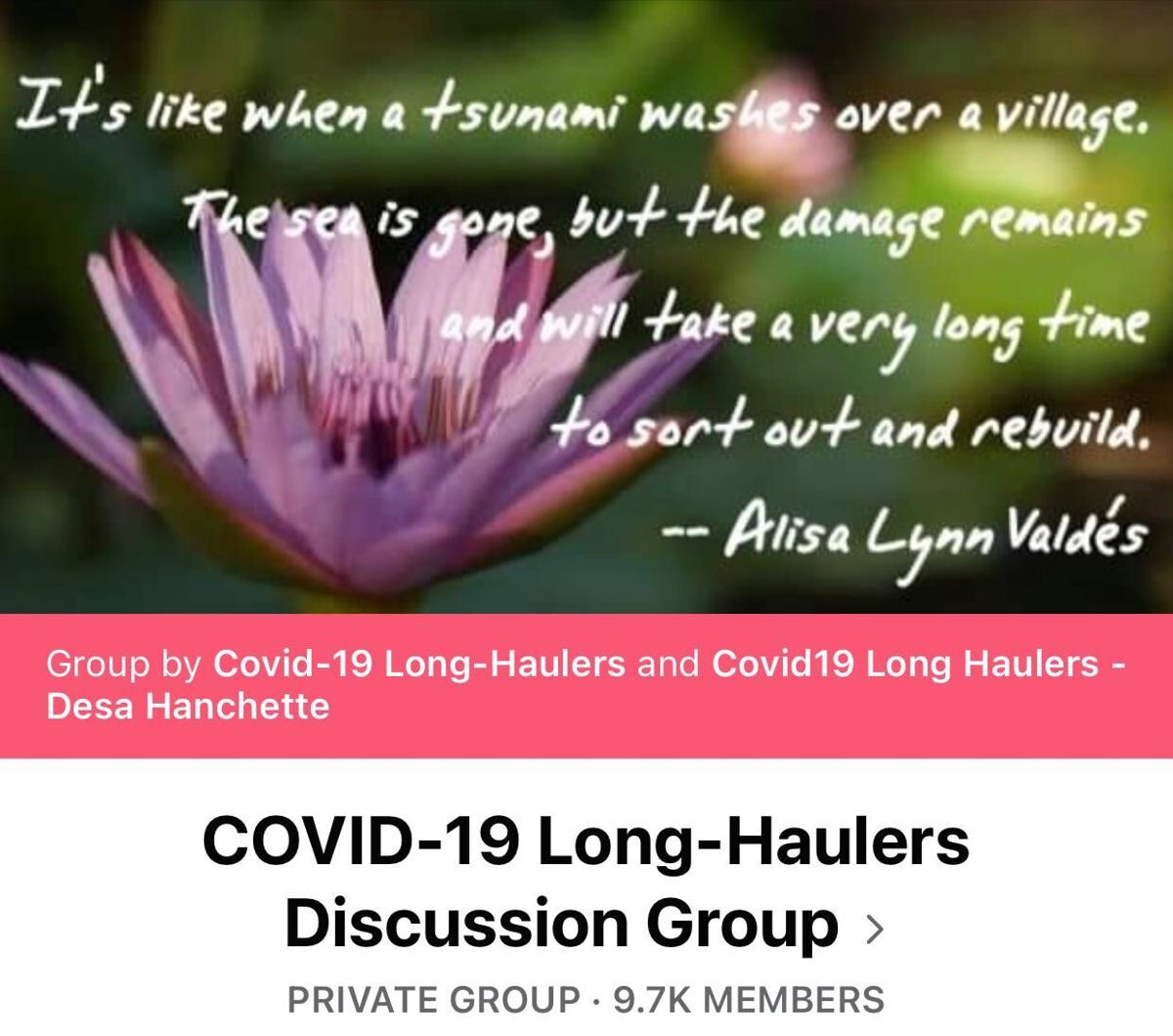 COVID-19 Long-Haulers on Facebook