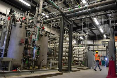 Vit Plant support buildings move into commissioning phase