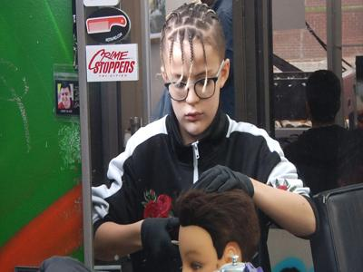 12 year old barber