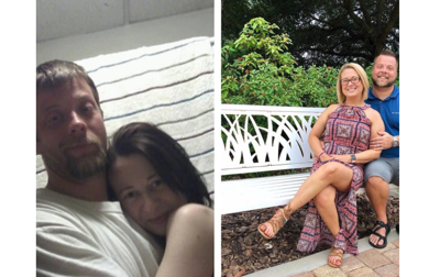 Inspiring photos of couple before, after meth addiction go viral