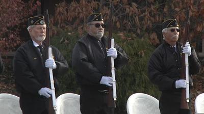 Veterans honored during ceremony in Sunnyside