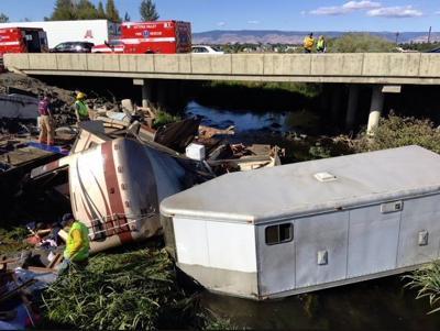 Two dead in motorhome crash on I-90 outside of Ellensburg