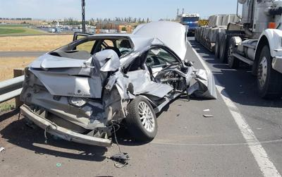 Two seriously injured after motor vehicle crash on Hwy 207