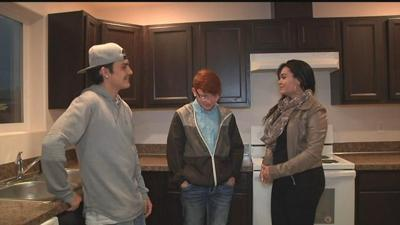 A family in Tieton receives new home from Habitat For Humanity