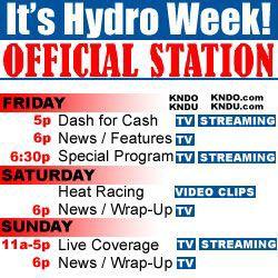 TV & Internet Stream Schedule: Live Racing Friday, Saturday
