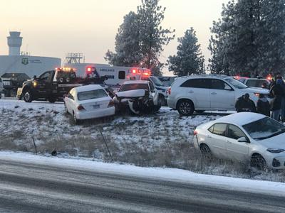 Crash on I-90