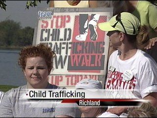 Stop Child Trafficking Now walk